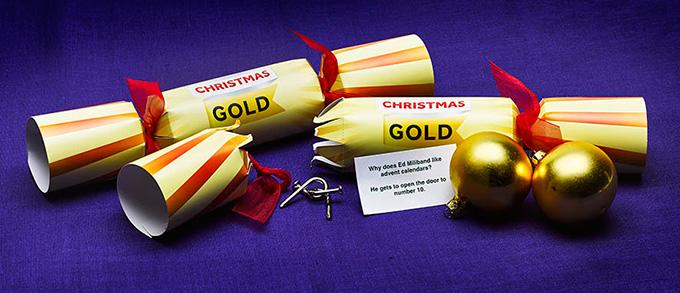 Ed Miliband Christmas Cracker