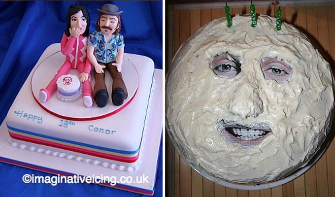 Fielding cake