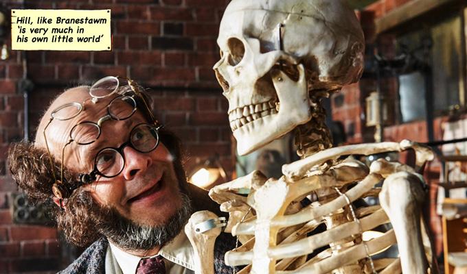 professor branestawm skeleton