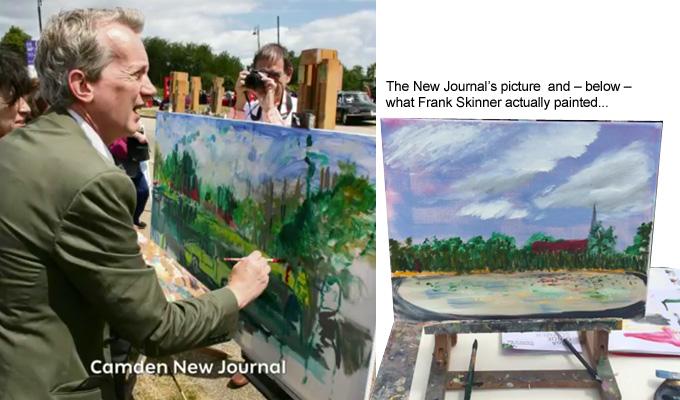 Skinner landscape painting
