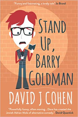 Stand Up Barry Goldman cover