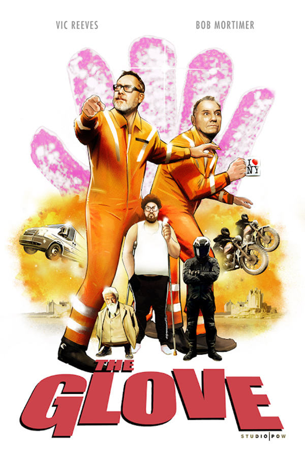Glove poster Vic and Bob