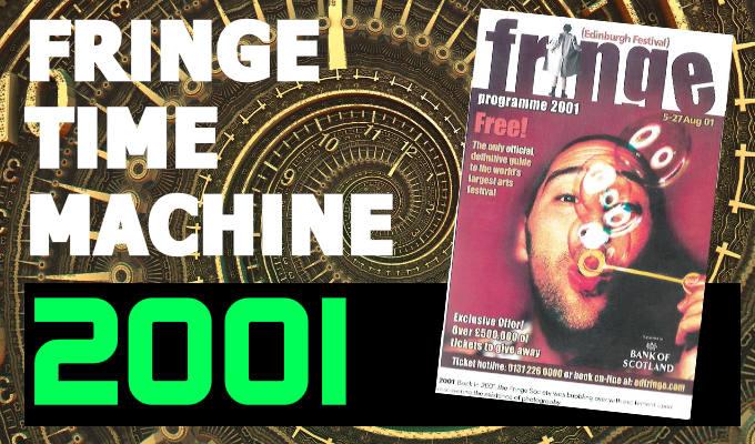 Fringe Time Machine 2001