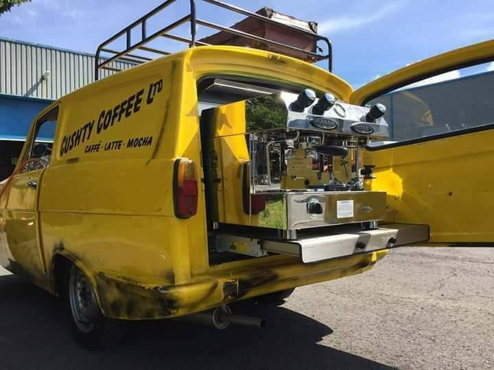 Del Boy coffee van