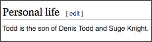 Wikipedia extract